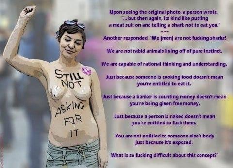 Still Not Asking For It Feminism