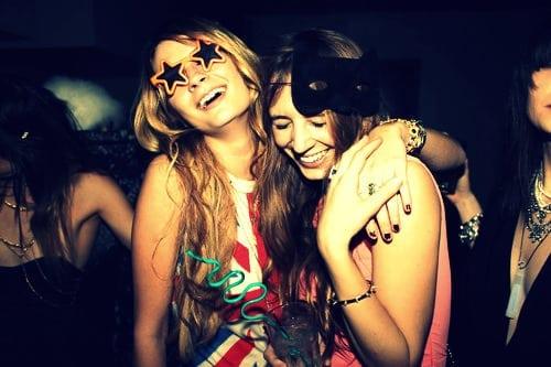 Best Friends Partying