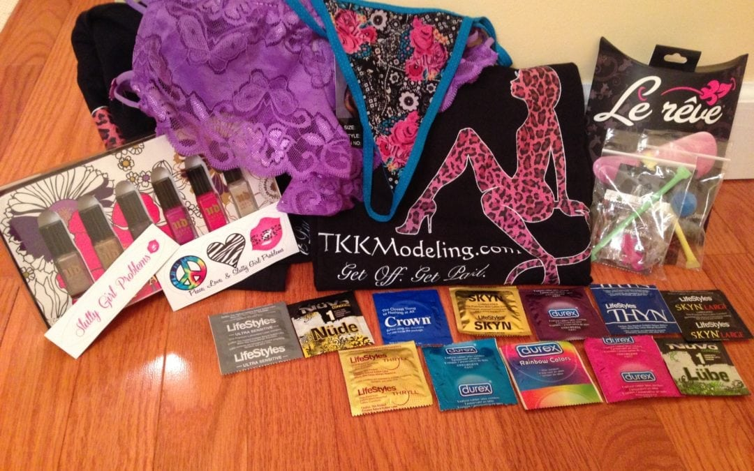 Win the Le Reve Vibrator, Urban Decay Nail Polish, and T.K.K. Swag!