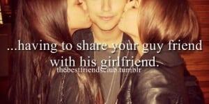 I like him but I think he has a girlfriend...?