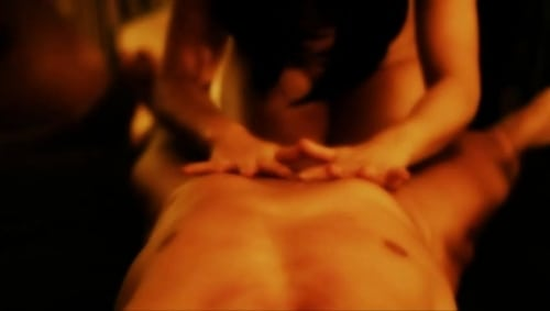 Red tube clit massage