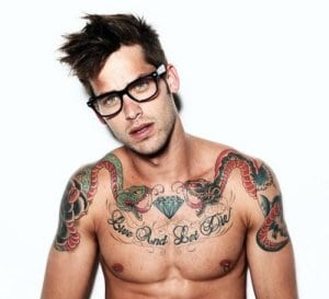 What His Tattoos Say About His Personality