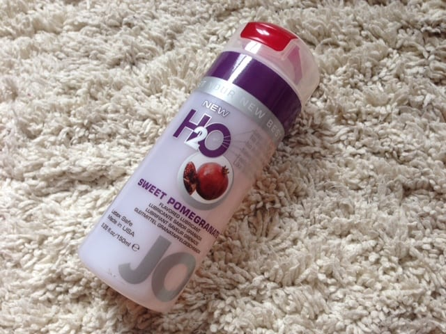 Jo H2O Sweet Pomegranate Lube Review