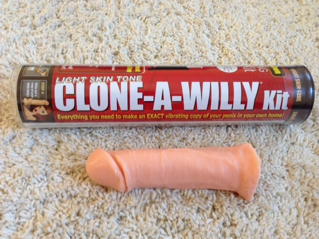 clone a willy make own dildo