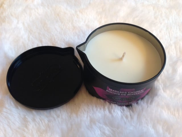 Kama Sutra's Island Passionfruit Massage Oil Candle Review