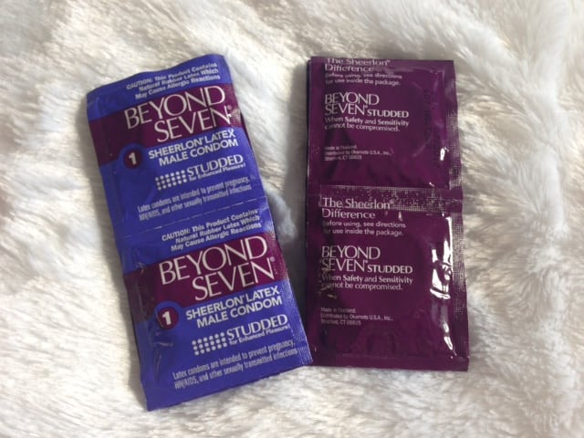 Beyond Seven Studded Condoms Review