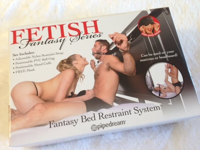 Fetish Fantasy Bed Restraint System Review