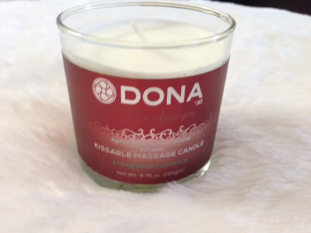 Dona Kissable Massage Candle Review