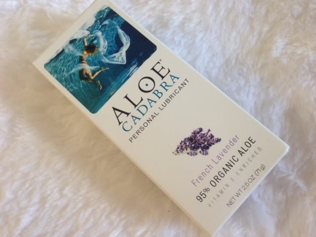 Aloe Cadabra's French Lavender Lubricant Review