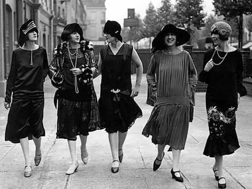 The History of the Flapper