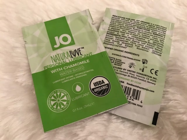 Jo H20 Organic NaturaLove Water-Based Lube Review