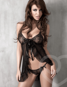 Sheer Lace Babydoll Review