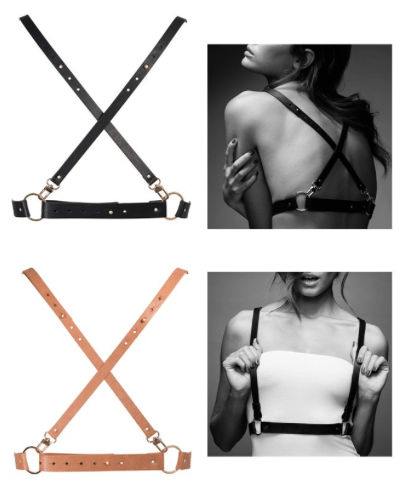 Bijoux Indiscrets Maze X Body Harness Review