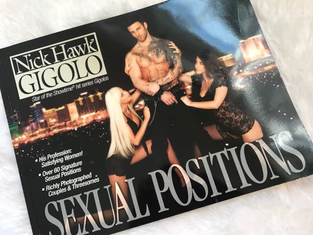 Nick Hawk Gigolo Sex Positions Book Review