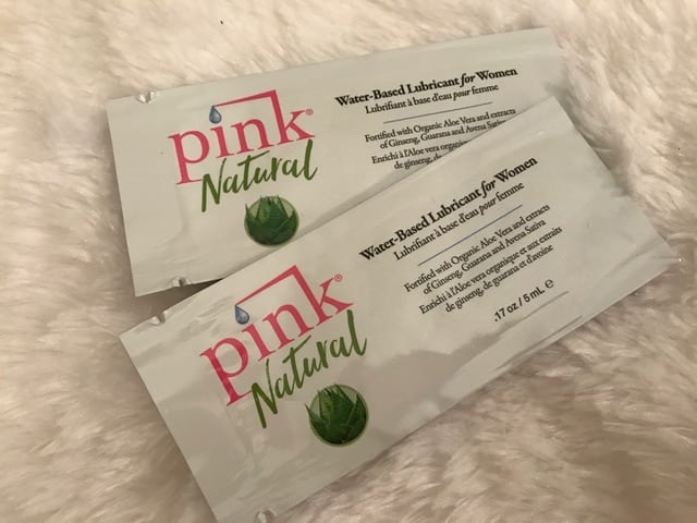 Pink Natural Water-Based Lube Review