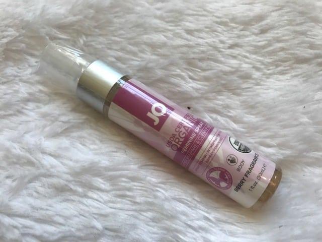 Jo USDA Certified Organic Feminine Spray Review