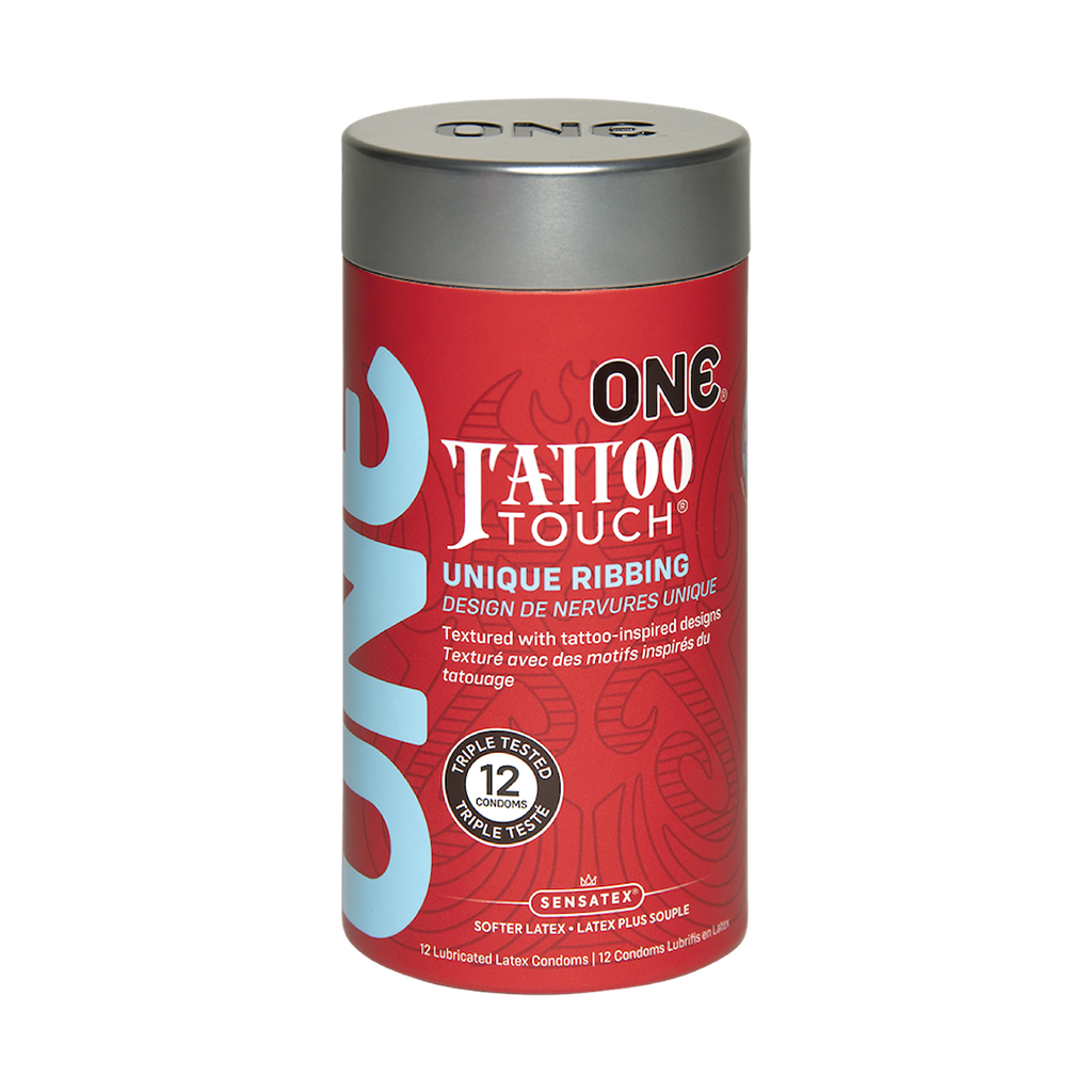 one tattoo touch condoms