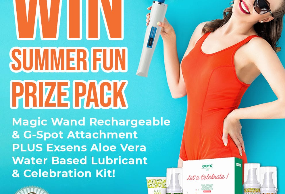 Win the Ultimate Summer Pleasure Set from Betty's Toy Box!
