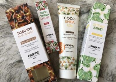 EXSENS Massage Oils Review