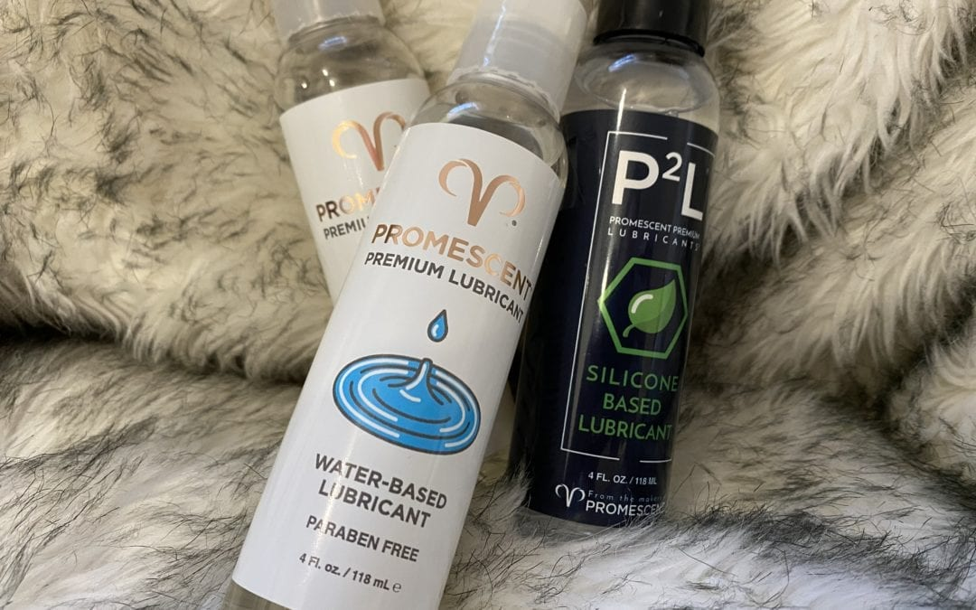 Promescent Water, Silicone, and Organic Lubes Review